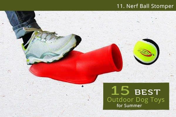 Nerf Ball Stomper - Best Outdoor Dog Toys for Summer
