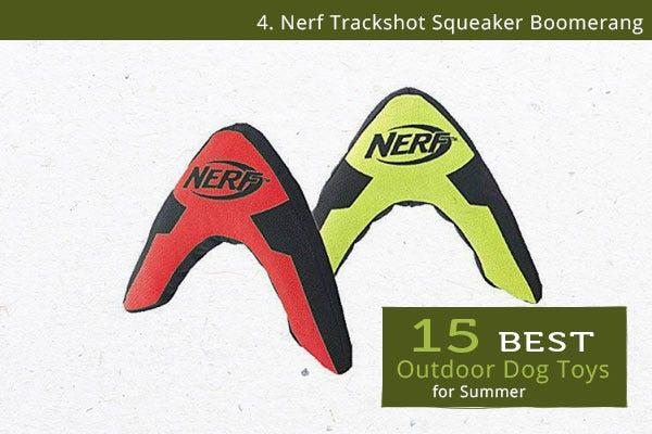 Nerf Trackshot Boomerang - Best Outdoor Dog Toys for Summer