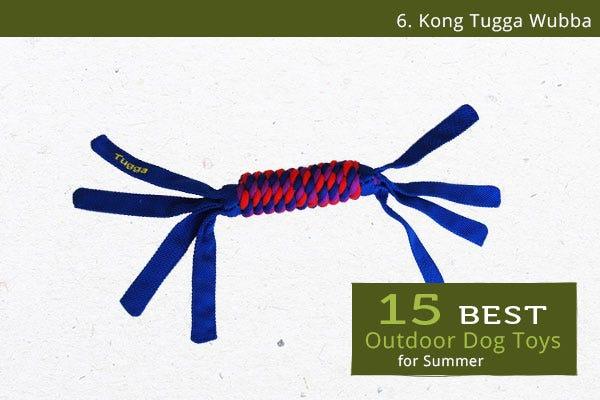 Tugga Wubba - Best Outdoor Dog Toys for Summer