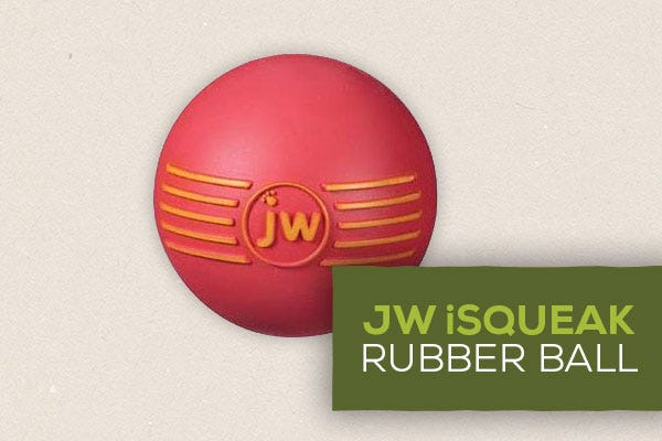 JW iSqueak Rubber Ball