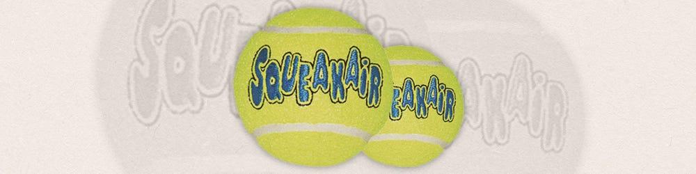 Kong AirDog SqueakAir Tennis Balls