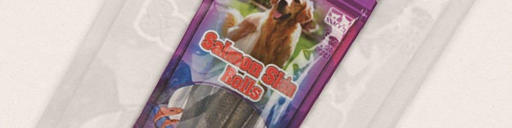 Snack21 Salmon Skin Rolls