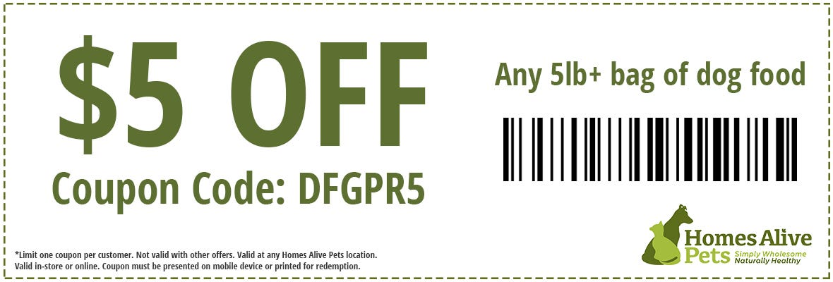 Dog Food Coupon Offer