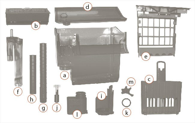 Fluval C Replacement Parts Diagram