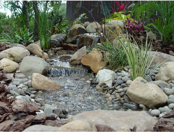 8 inspiring pondless waterfall ideas