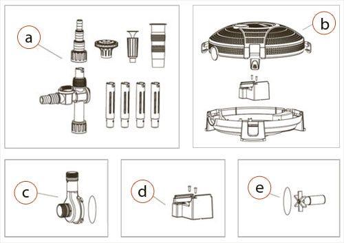 AquaJet Replacement Parts