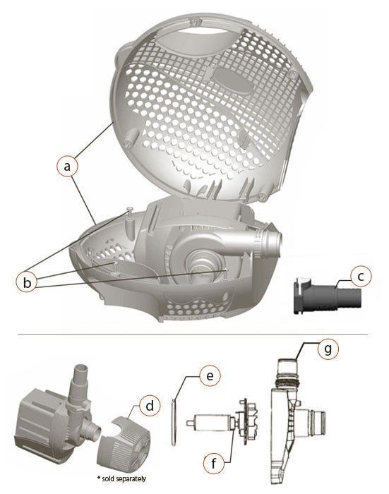 Max-Flo 4820 Parts