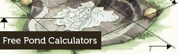 Free Pond Calculators
