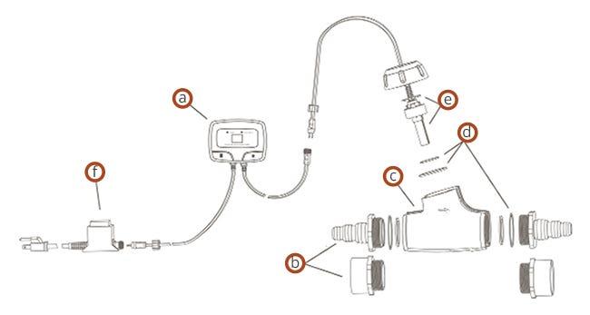 Aquascape IonGen G2 Parts Diagram