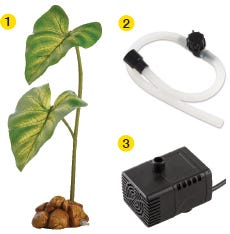 Dripper Plant Parts Included